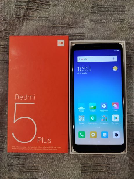 Продам Xiaomi redmi 5 Plus 32 GB в полной комплектации