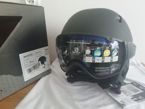 Kask narciarski Salomon Driver S All Black M 56-59 cm