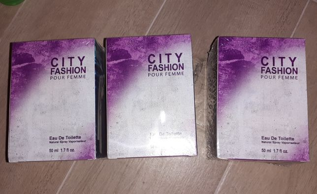 Perfumy damskie City fashion 50 ml