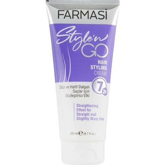 Farmasi. Крем-стайлинг для прямых волос farmasi style`n go Львов - изображение 1