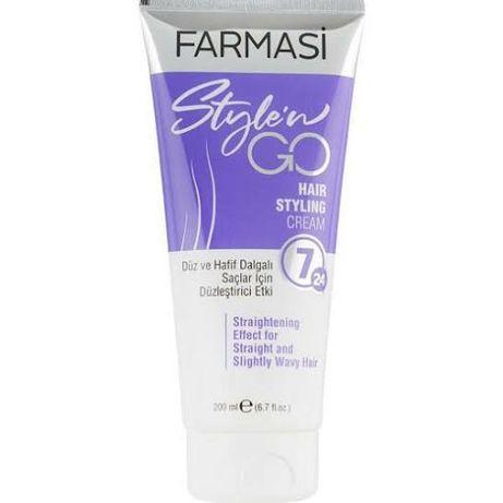 Farmasi. Крем-стайлинг для прямых волос farmasi style`n go