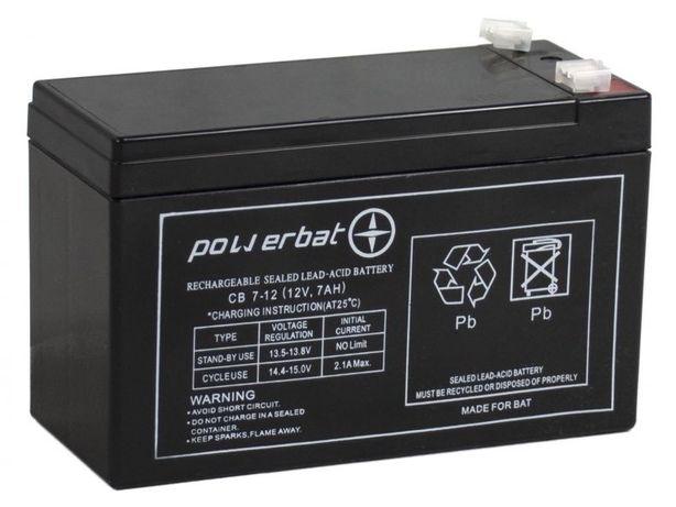 Akumulator żelowy Powerbat Cb 7, 12 12v 7Ah