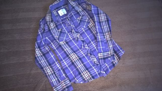 Koszula w kratę 6-9 lat