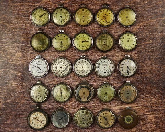 VINTAGE zegarek kieszonkowy z USA dewizka PEAKY BLINDERS stary retro