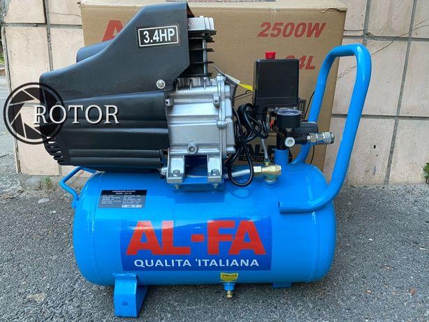Компрессор Al-fa ALC24 24Л 2.5 кВт 210 л/м Якiсть! Гарантiя! Польша!