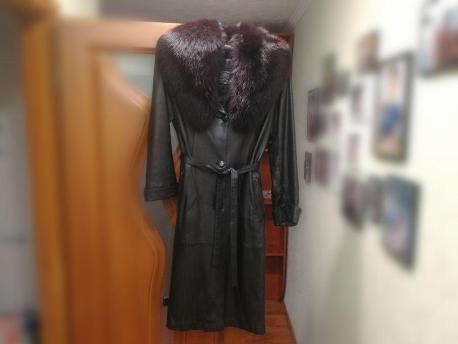Кожанное пальто Донецьк - зображення 1