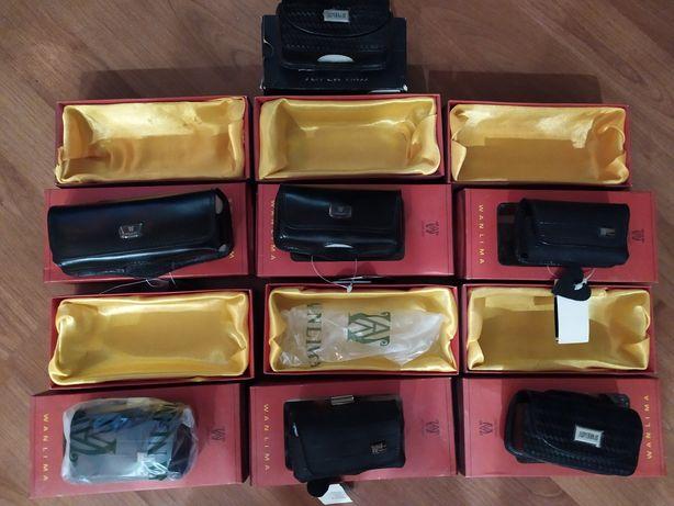 Кожаные чехлы для телефонов, кобура на пояс, вейпа