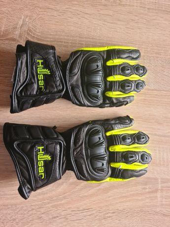 Rękawice motocyklowe Husar nowe