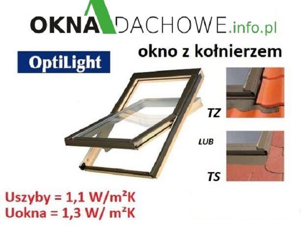 Okno okna dachowe 78x140cm +kołnierz tz/ts 672,54zł cena BRUTTO