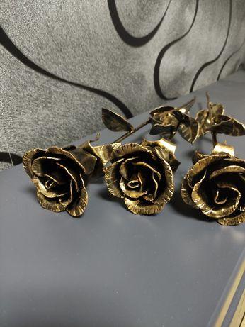 Кованная роза.Лучший подарок девушке