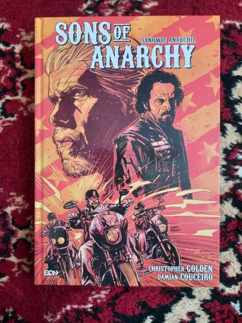 Sons of Anarchy Synowie anarchii komiks z plakatem