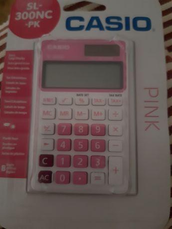 Máquina calcular da casio. Sem uso. Nova. Embalagem fechada