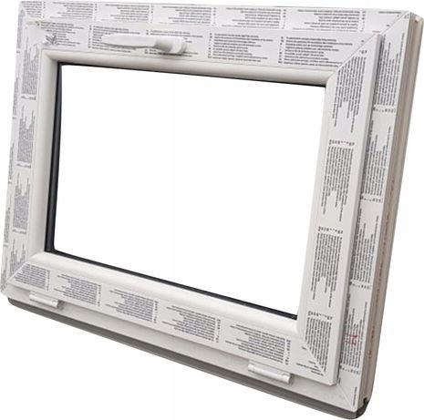 okna KacprzaK okno PCV 90X80 nowe PCV WYSYŁKA 24h