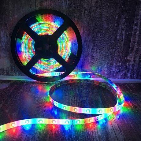 Комплект светодиодной ленты 3528 RGB в силиконе 2,3,4,5 м с пультом