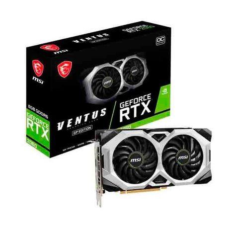 MSI GeForce® RTX 2060 VENTUS GP OC 6GB GDDR6