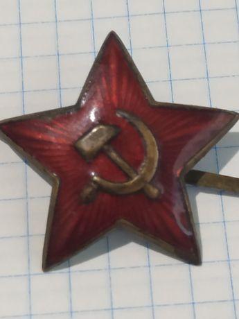 Звезда РККА кокарда 20 - тых  годов