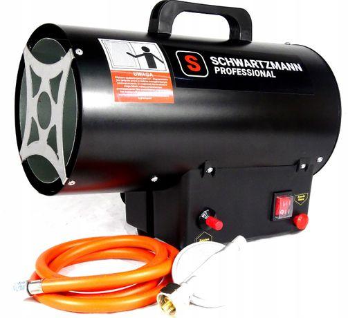 Nagrzewnica dmuchawa gazowa 15kW 320m3 +wąż,reduktor SCHWARTZMANN