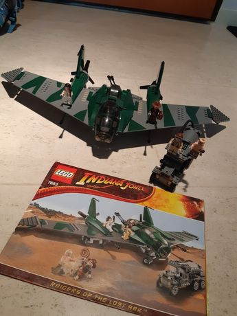Unikatowy zestaw Lego Indiana Jones 7683