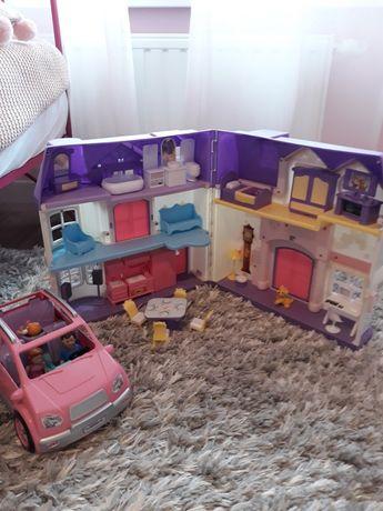 Domek dla lalek + auto dla lalek