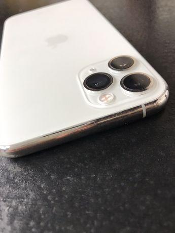 Iphone 11 pro 64 gb silver состояние идеал + чехол + стекло