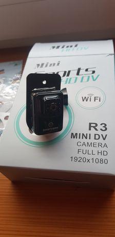 Mini kamerka mini sports hd dv R3 full hd 1920x1080 wifi
