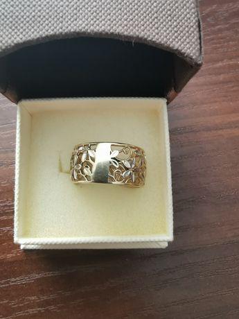 Złoty pierścionek 585 okazja