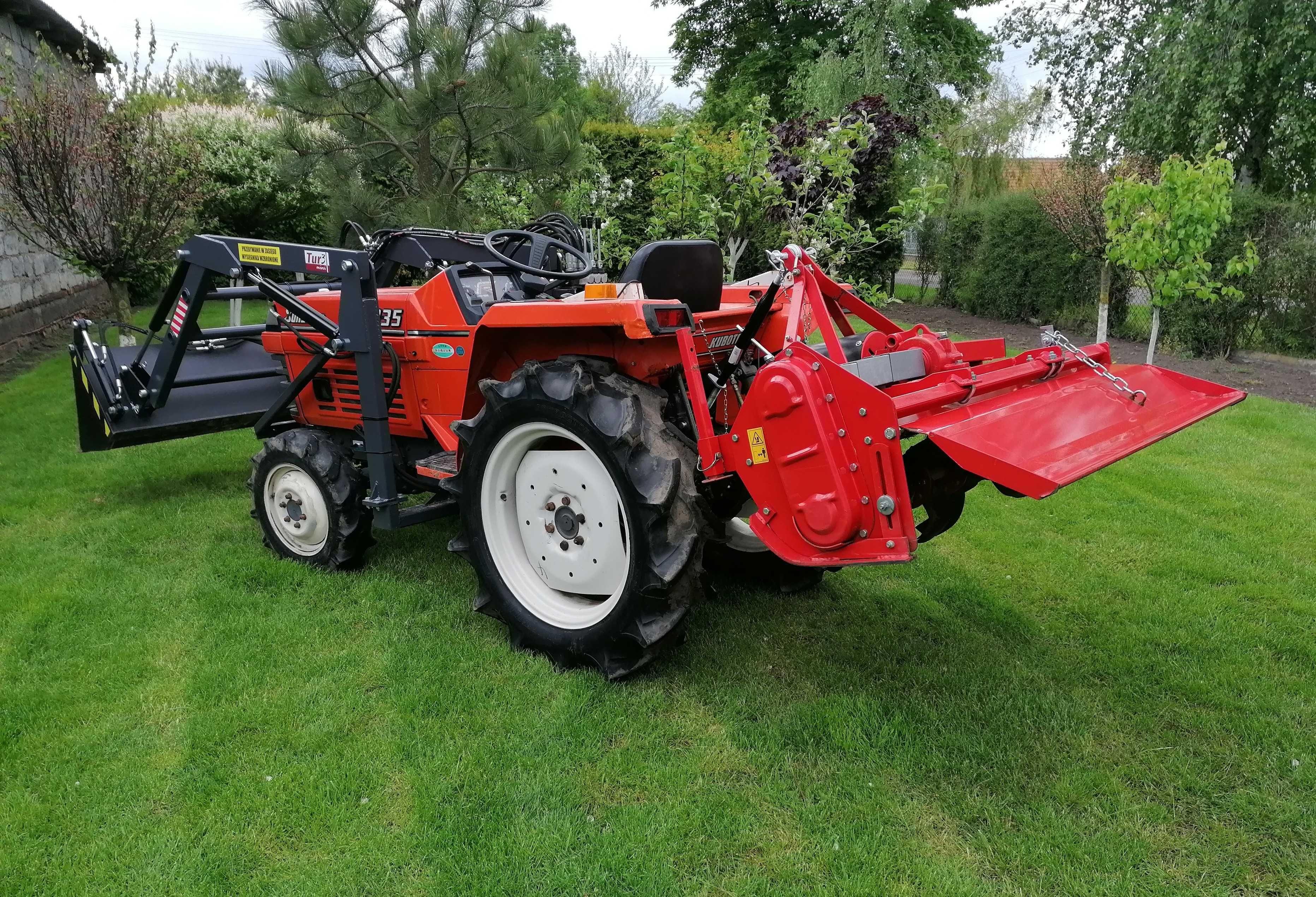 Prace Traktorkiem Ogrodowym