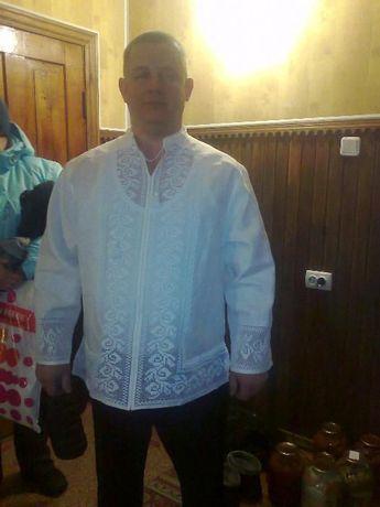 мужская сорочка с вышивкой