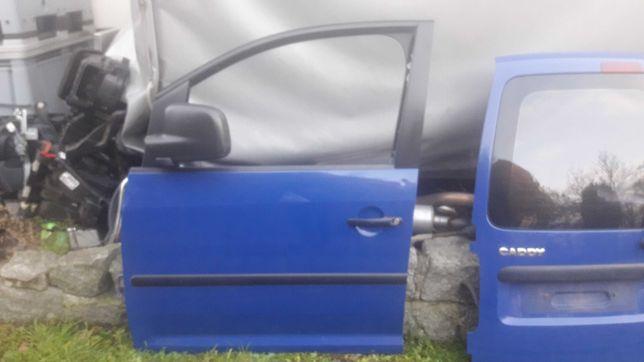 Drzwi lewe przednie caddy LA5C
