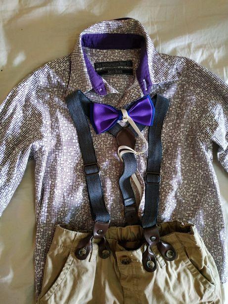 Комплект.костюм-стиляги для мальчика 5-6 лет Next