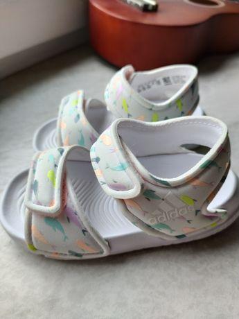 Sandały Adidas Altaswim 4 białe