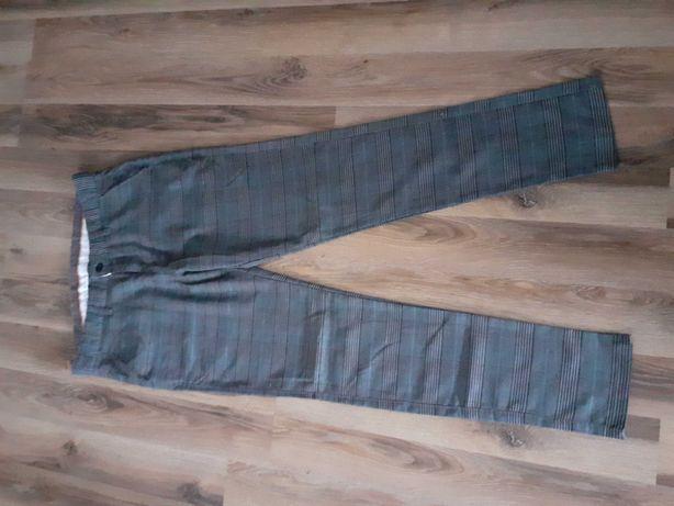 Spodnie męskie w krate