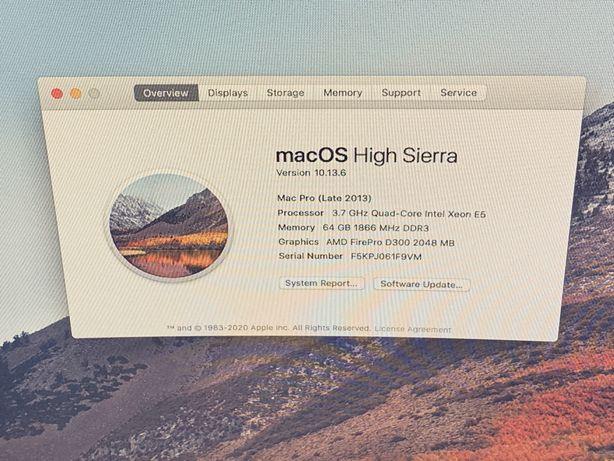 Apple Mac pro xeon 64gb D300