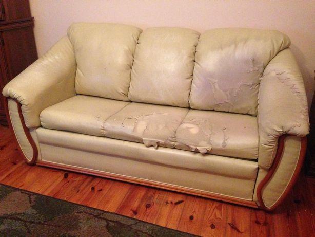 Kanapa sofa rozkładana za darmo Katowice