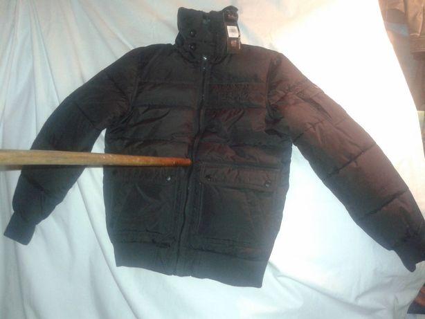 NOWA oryginalna kurtka pikowana ocieplana ROUGH-SOUL roz S czarna