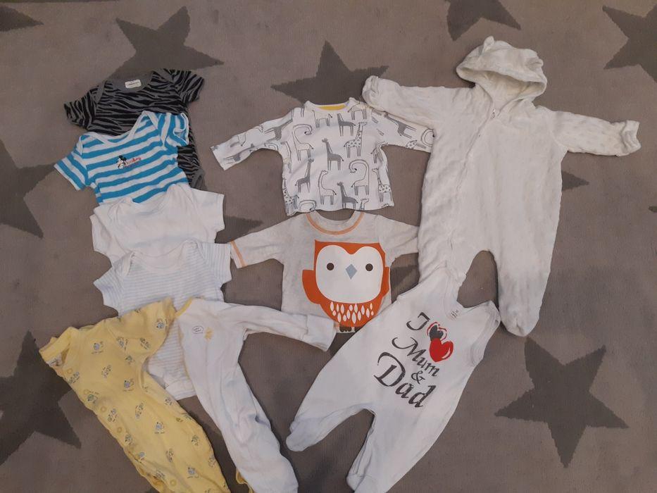 Komplet ubrań dla chłopca rozmiar 56 body, pajace, kombinezon Ryjewo - image 1