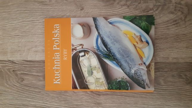 Kuchnia polska ryby ksiazka kulinarna przepisy NOWA