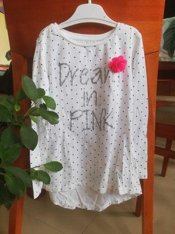 Paczka dla dziewczynki r. 128 Smyk, Endo,dżinsy,bluzeczki