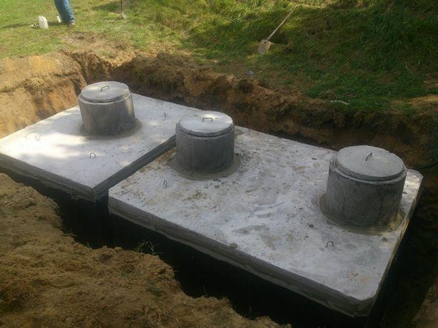 Na gnojówkę Zbiornik Betonowy 12m3 Wodę Deszczówkę Szambo Betonowe