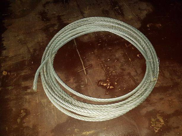 Lina stalowa 12 mm ocynkowana oplot 6x37