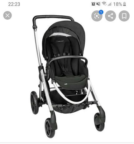 Vários bens essenciais para bebé