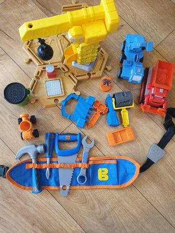 Bob Budowniczy pojazdy, pas z narzędziami.