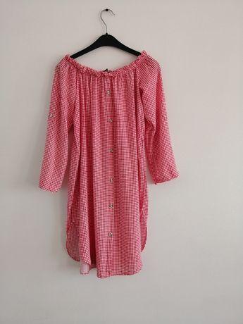 Tunika/sukienka w kratkę