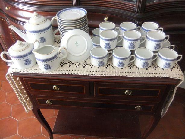 Serviço chá 18 pessoas Vista Alegre Cozinha Velha
