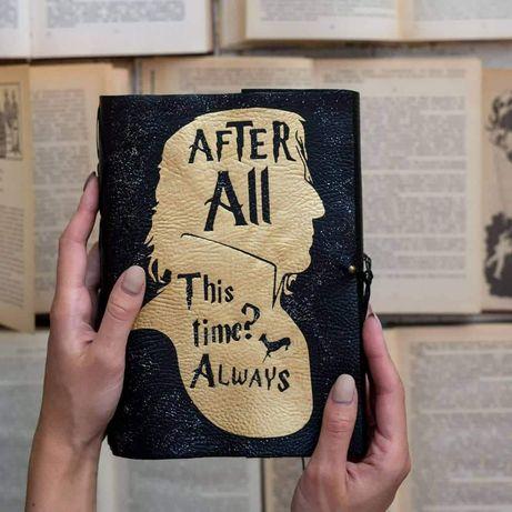 Harry Potter Гарри Поттер Блокнот ручної роботи handmade + подарунок
