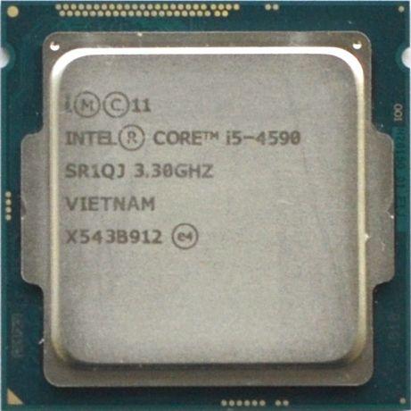 Процессор I5 4590 3.3GHz 6Mb Intel Core 1150 SR1QJ   Гарантия 1 Год