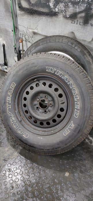 Kolo zapasowe jeep wj 245 / 70 r16 Olsztyn - image 1