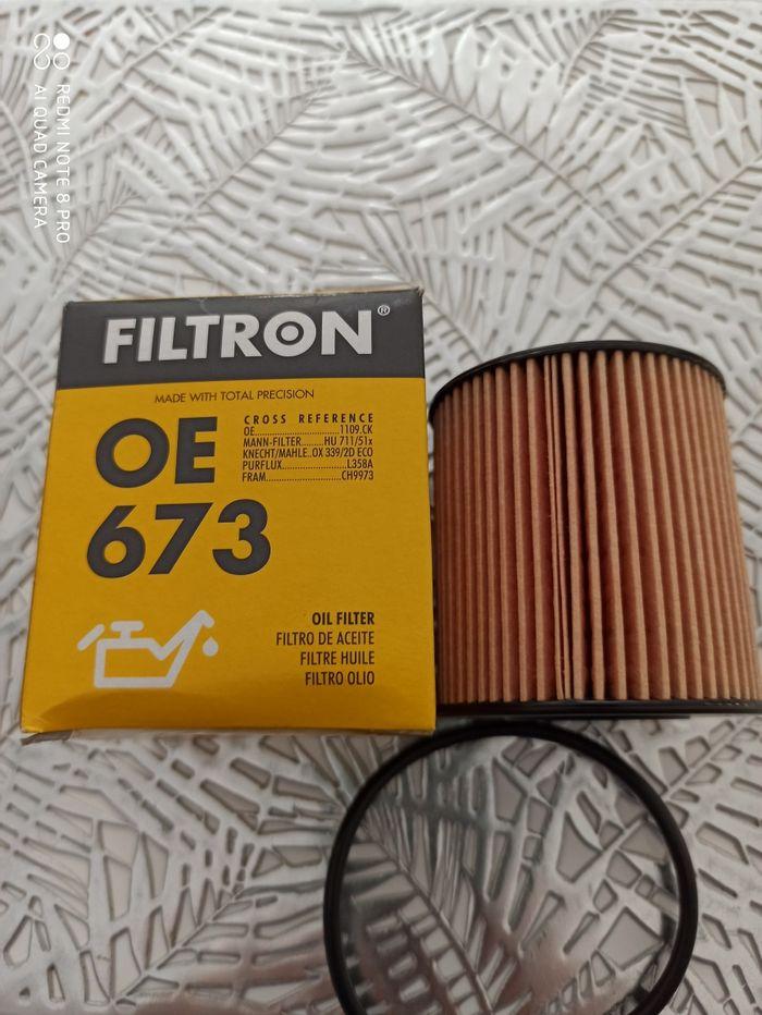 Filtron OE 673 filtr oleju. Nowy Legnica - image 1