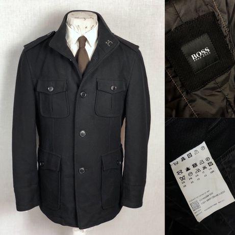 BOSS Hugo Boss премиум пальто куртка шерсть Brioni Zilli Burberry