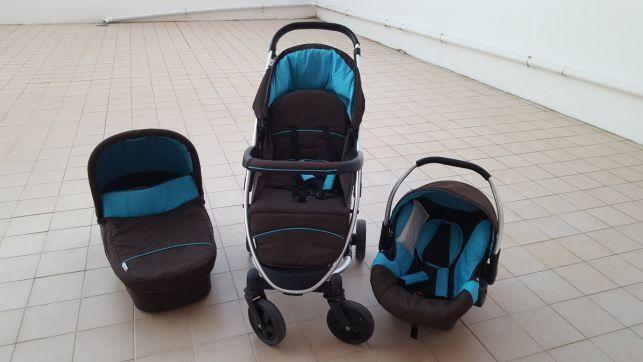carrinho de bebe 3em1
